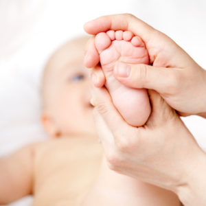 Acupuncture treatments for babies